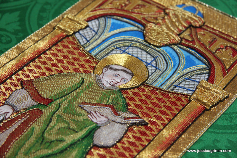 St. Laurence golwork embroidery