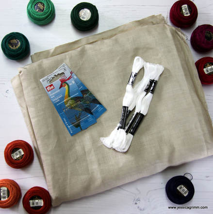 Embroidery supplies from Crete