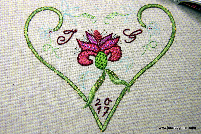 Strawberry Fayre pattern by Carolyn Pearce