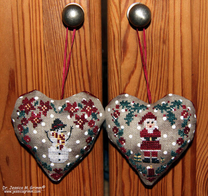Finished Barbaral Creations ornaments