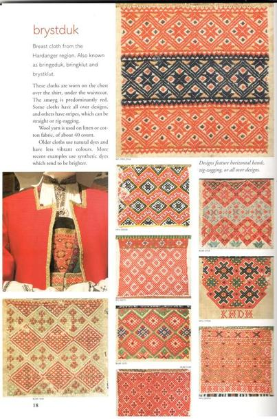 Yvette Stanton pattern darning from Norway