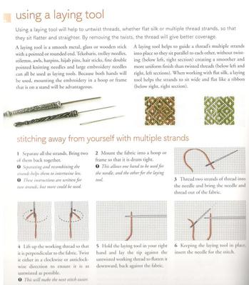 Pattern darning from Norway Yvette Stanton
